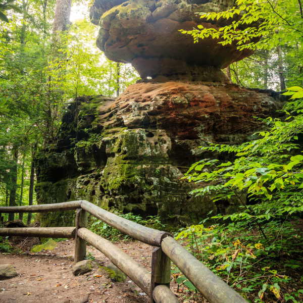trails in the red river gorge