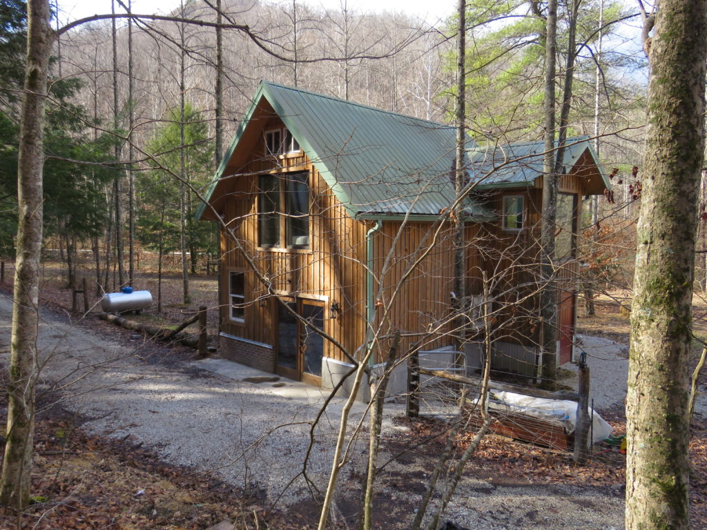 Red River Gorgeous Gorge Huckleberry Farmhouse Organic Farm Rental Kentucky WOOF Wendel Berry